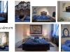 Hotel Al Fagiano Padova: Camere Blu dream