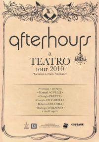 Afterhours a Teatro Tour 2010 Padova
