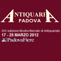 Antiquaria 2012 Padova Fiere Antiquariato