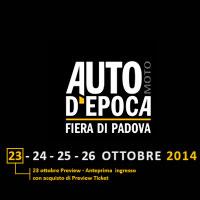 Auto Moto d'Epoca 2014 Padova Fiera