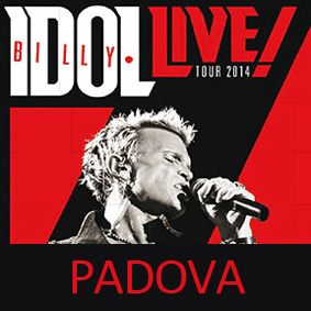 Billy Idol Padova 2014