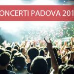 lista concerti Padova 2015