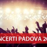 Elenco concerti Padova 2017