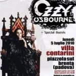 Concerto Ozzy Osbourne Villa Contarini, Piazzaola Sul Brenta (Padova) 05-07-2010