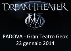 Dream Theater Padova 2014