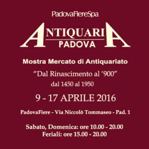 Fiera Antiquaria Padova 2016
