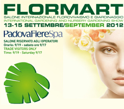 Fiera Flormart Padova 2012