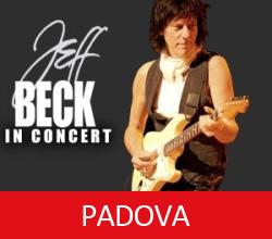 Padova Jeff Beck 2014 World Tour