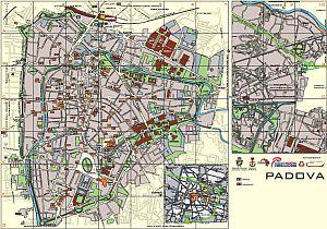 Mappa Padova Città