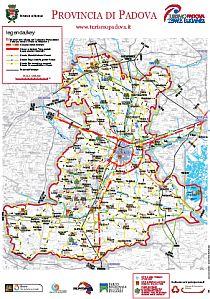 Mappa Provincia di Padova