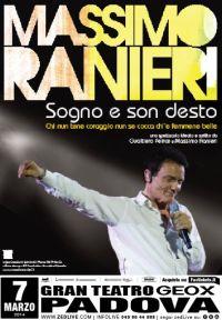 Padova Massimo Ranieri Sogno e Son Desto 2014