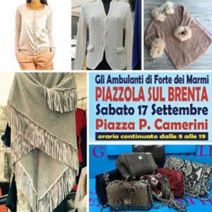 Mercato Ambulanti di Forte dei Marmi a Piazzola sul Brenta (Padova) 2016