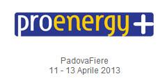 Proenergy + 2013 Padova Fiera