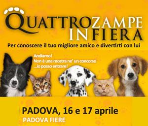 Quattro Zampe in Fiera 2016 Padova