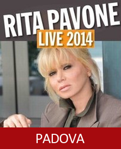 Rita Pavone is back Padova 2014