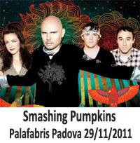 Smashing Pumpkins Padova 2011 - Concerto Palafabris