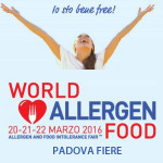 World Allergen Food 2016 Padova
